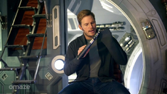 花絮之Chris Pratt Shows You Around the Set