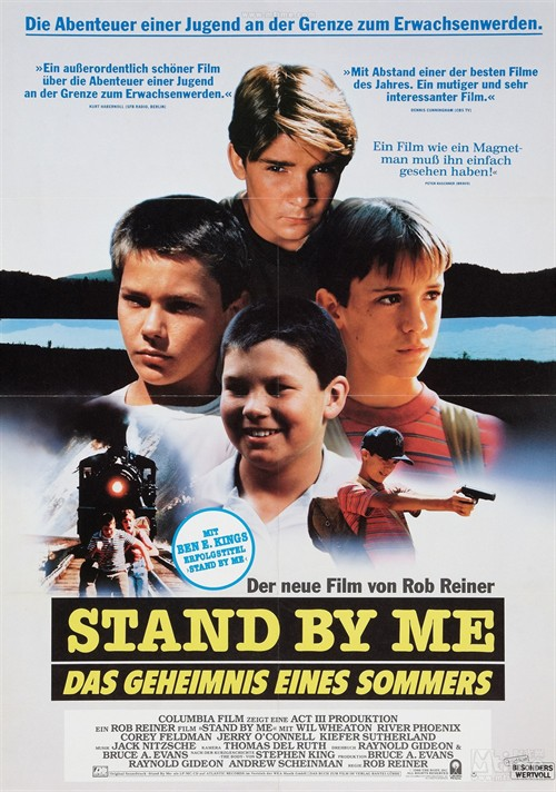 ask the experts stand by me movie essay stand by me explores the value of friendship for young people when facing lifes challenges the body and watching the remake film of it called stand by me