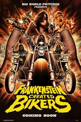 Frankenstein Created Bikers( 2013 )