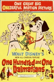 101忠狗/One Hundred and One Dalmatians(1961)