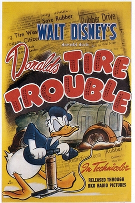 Donald's Tire Trouble( 1943 )