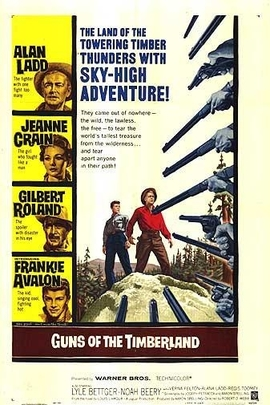Guns of the Timberland( 1960 )