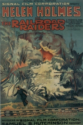 The Railroad Raiders( 1917 )