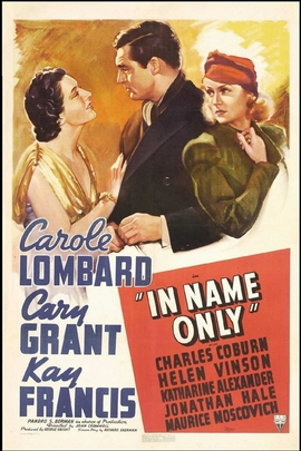 In Name Only( 1939 )