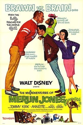 The Misadventures of Merlin Jones( 1964 )