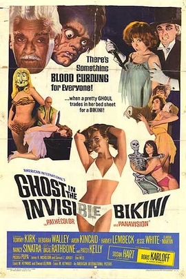 The Ghost in the Invisible Bikini( 1966 )