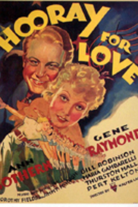 Hooray for Love( 1935 )
