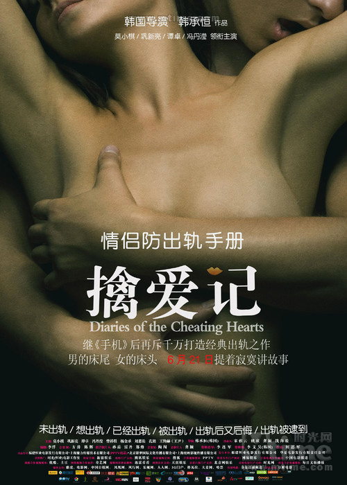 擒爱记Diaries of the Cheating Hearts(2012)海报 #01