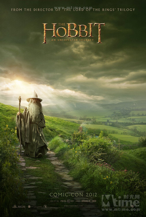 霍比特人1:意外旅程The Hobbit: An Unexpected Journey(2012)预告海报 #03