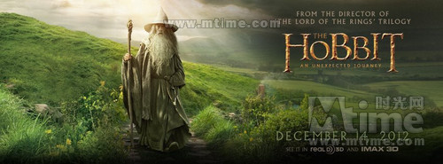 霍比特人:意外之旅The Hobbit: An Unexpected Journey(2012)预告海报 #04
