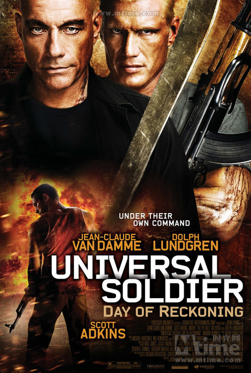 再造战士4Universal Soldier: A New Dimension(2012)海报 #02