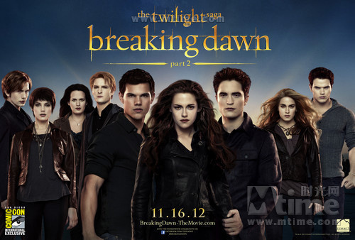 暮光之城4:破晓(下)The Twilight Saga: Breaking Dawn - Part 2(2012)预告海报 #04