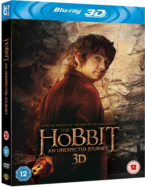霍比特人:意外之旅The Hobbit: An Unexpected Journey(2012)蓝光封套(英国) #02