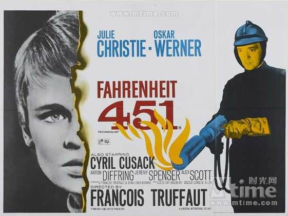 Image result for fahrenheit 451 movie poster