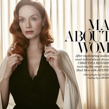 写真 #0146:克里斯蒂娜·亨德里克斯 Christina Hendricks