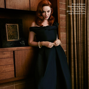 写真 #0147:克里斯蒂娜·亨德里克斯 Christina Hendricks